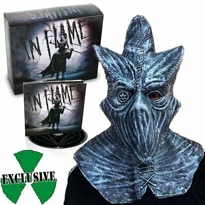 In Flames ‎– I, The Mask CD DELUXE BOX SET with mask NEW!