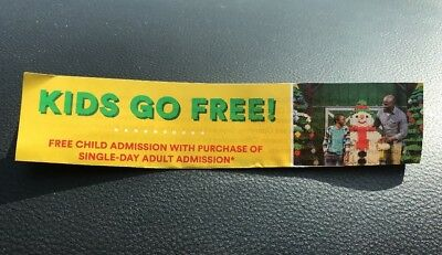 Legoland Florida Coupon Comp Kids Ticket With Adult Full Price Purchase