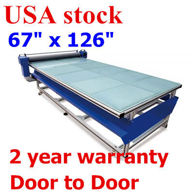 USA! 67in x 126in Flatbed Hot and Cold Laminator for Rigid & Flex Media