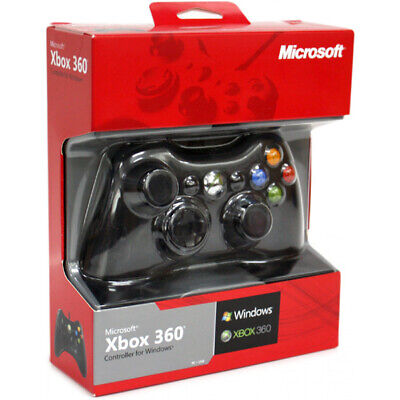 Microsoft Xbox 360 Wired Controller for Windows - Video Game Accessory BRAND NEW