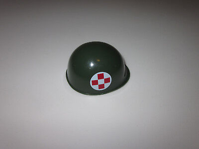 """Replacement Gear New Unused with Chin Strap Medic Helmet 12/"""" GIJOE"""