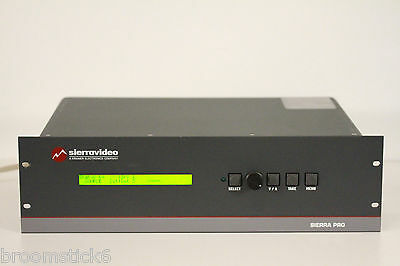 Sierra Pro/ Kramer 88V3 8x8 3 Channel Video Matrix Switcher