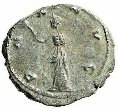 "Claudius II Gothicus Heavy Antoninianus 4.76g ""PAX AVG"" Silvered Billon VF"