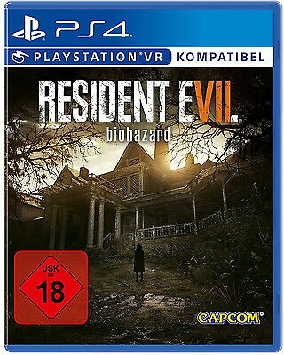 PS4 Resident Evil 7 Biohazard 100% UNCUT NEU&OVP Playstation 4