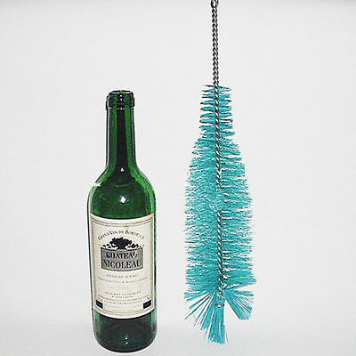 Nylon Bottle Cleaning Brush Wine Beer Home Brew Tube Spout Kitchen Cleaner ^P