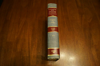 Pharmacology Toxicology Uranium Compounds National Lab Nuclear 1st Ed 1st Print