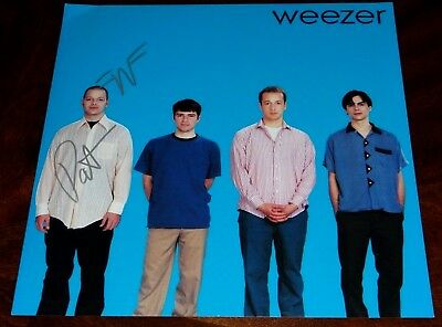 Patrick Wilson Weezer Drummer Signed Self Titled 12X12 Album Cover Photo!!!