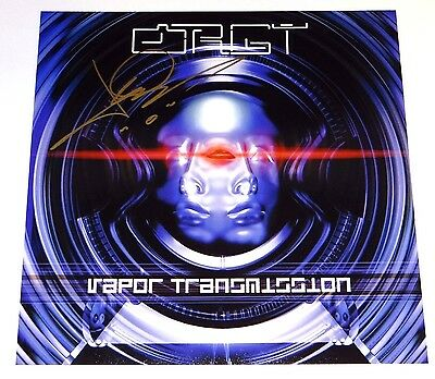 Orgy Jay Gordon Signed Vapor Transmission 12X12 Album Cover Photo!!!