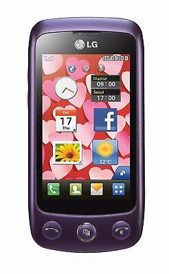 Purple Lg Cookie Plus Gs500 Unlocked Cell Phone At&T Roger Koodo Telus Bell Fido
