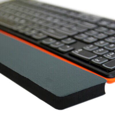Keyboard rubber wrist support pad pc computer hand rest comfort hands cushio Hb