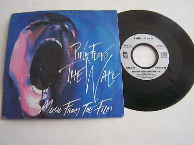 SP 45 TOURS VINYLE , PINK FLOYD , THE WALL , music from the film . VG - / EX