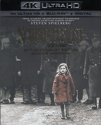 Schindler's List (4K Ultra Hd/bluray)(3 Disc Set)(Used)