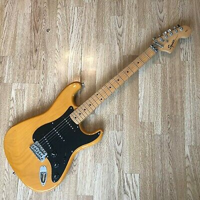 Squier Strat Fender Electric Guitar Stratocast Affinity 20th Anniversary Edition