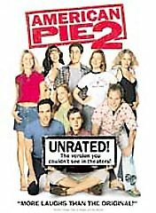 American Pie 2 (DVD, 2002, Unrated Full Frame)Disc Only 21-120