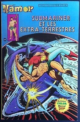 NAMOR Tome 1 Submariner et les extra-terrestres 1979 Comme neuf