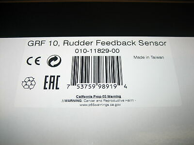 Garmin GRF 10 Rudder Feedback Sensor 010-11829-00 - NEW IN BOX