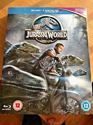 Jurassic World Blu-Ray + UltraViolet Code