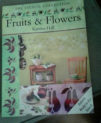 The Stencil Collection Fruits and Flowers by Katrina Hall