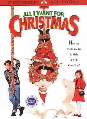 All I Want for Christmas (Widescreen Collection) NEW DVD