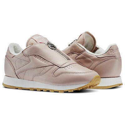 a91fb3a06c4421 Reebok Classics Classic Leather Zip women Trainers Rosa Freizeit