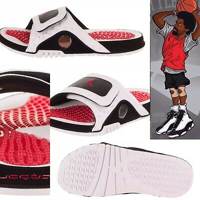 GS NEW IN BOX JORDAN HYDRO RETRO XIII HE GOT GAME WHITE RED 684920-106