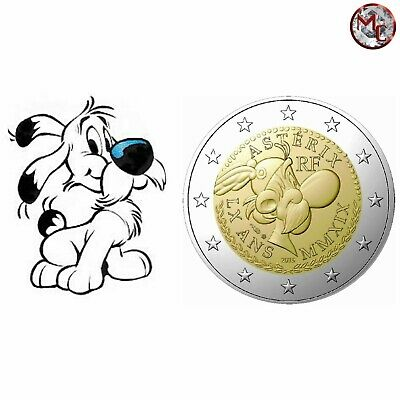 "France - 2 Euro 2019 ""60 years Asterix"" Coincard - IDEFIX"