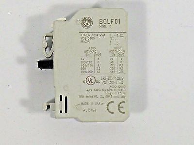 GE Auxiliary Contact Block BCLF01