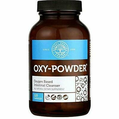 Oxy-Powder (120 Capsules) – Natural Oxygen Colon Cleanser & Detox Support