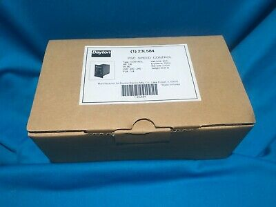 Dayton 23L584 - Adjustable Speed AC Motor Control - 240V, 1.2 Amps, 1/8 HP - NIB