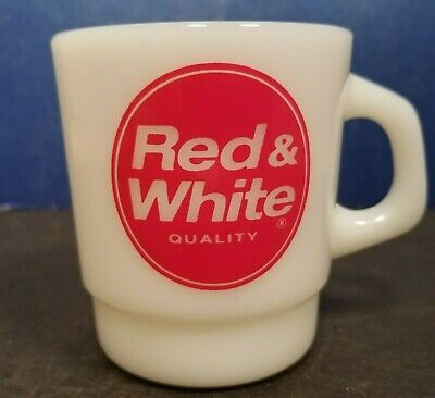 Red White Store Quality Tell A Friend Coffee Mug Cup