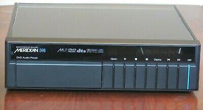 Meridian 598 Dvd Audio Player  - Practically Unmarked