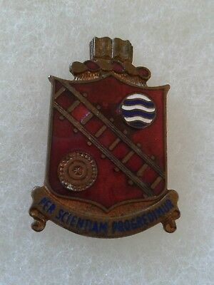 Authentic US Army Transportation School Device Badge DUI Crest Insignia NH