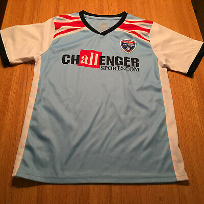 d33642bf8 ADULT CHALLENGER SPORTS British SOCCER JERSEY Mens size small ...