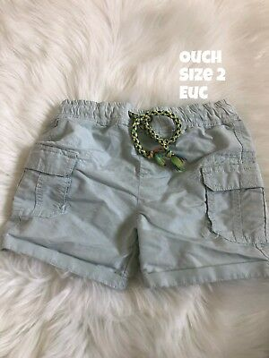 Ouch Shorts Size 2