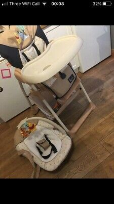 Feeding Highchair Sit And Relax Winnie The Pooh Pooh Ready To Play 665251 Hauck