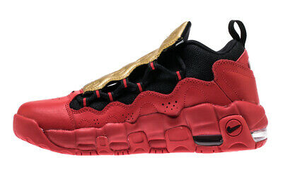 a1894990de Youth GS Nike Air More Money University Red Metallic Gold AH5215-600 MSRP  $130