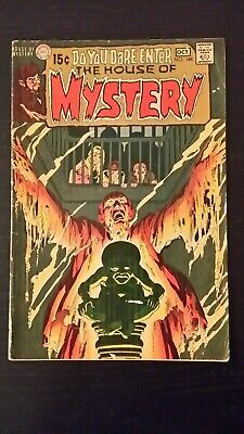 1970 Dc Comics House Of Mystery #188 Vg- Flat Rate Shipping