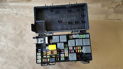 07 dodge nitro fuse relay box totally integrated power module 56049721aj