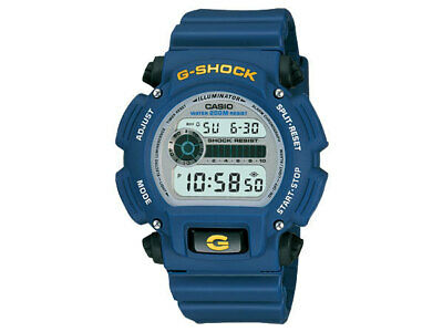 Casio G Shock G-Shock Basic Watch Dw9052-2 Blue Lcd Price 6