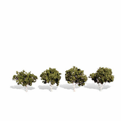 "TR3501 Woodland Scenics Sun Kissed Trees 8 pack 3//4/""-1 1//4/"" Ready Made Trees TMC"
