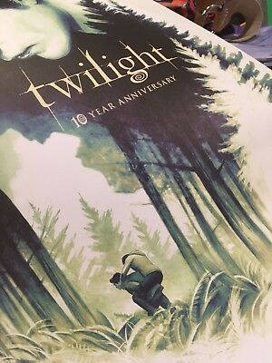 TWILIGHT 10th Anniversary Limited Edition Poster