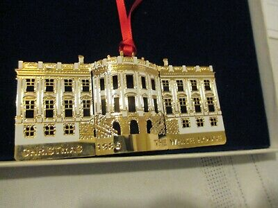 The White House Historical Association 1986 Christmas Ornament The South Portico