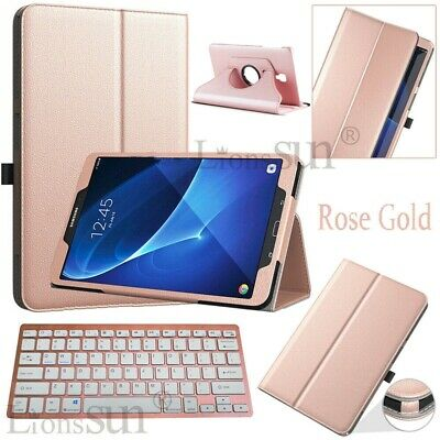 """For Samsung Galaxy Tab A 8.0"""" 2017 SM-T385 Bluetooth Keyboard Leather Case Cover"""