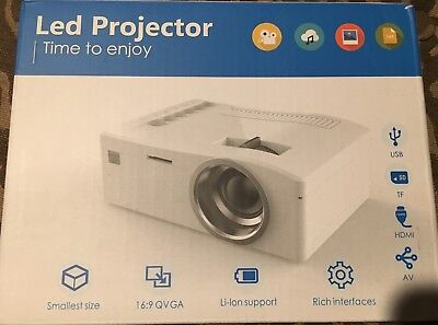 TIME TO ENJOY Led Projector