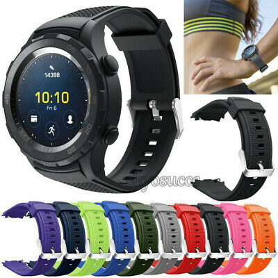 Hot Soft Silicone Watch Band Bracelet Wrist Strap Replacement for Huawei Watch 2