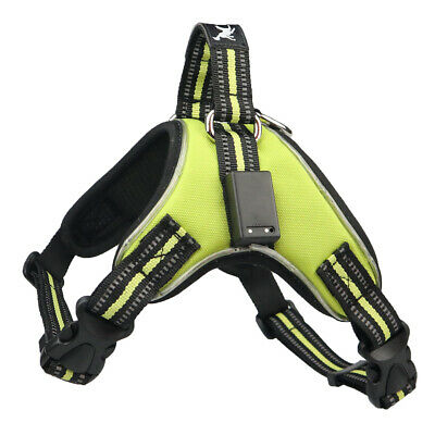 Soft Padded Puppy Dog Vest Harness No Pull Reflective Chest Strap Control