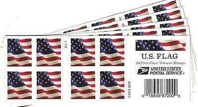 USPS FOREVER® STAMPS, Booklet of 5x 20 Postage Stamps