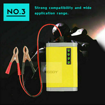 Car Battery Charger 12V Volt 2A  for Motorcycle Car Truck Maintainer Automatic