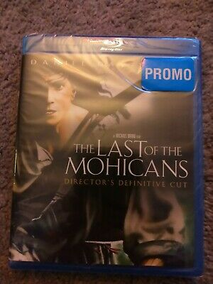 The Last of the Mohicans (Blu-ray Disc, 2010) sealed