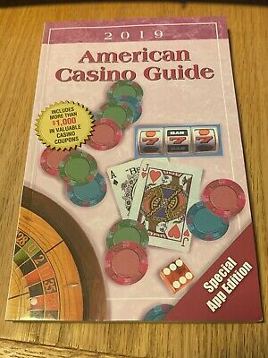 "2019 American Casino Guide - ""Coupons Only"" Edition LAS VEGAS Used"
